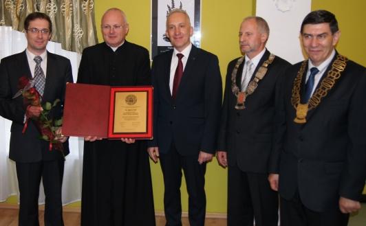 Uroczyste nadanie tytułu Honorowego Obywatela Gminy iMiasta Czerwieńsk