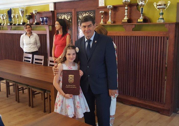 Nagrody Burmistrza dla najzdolniejszych
