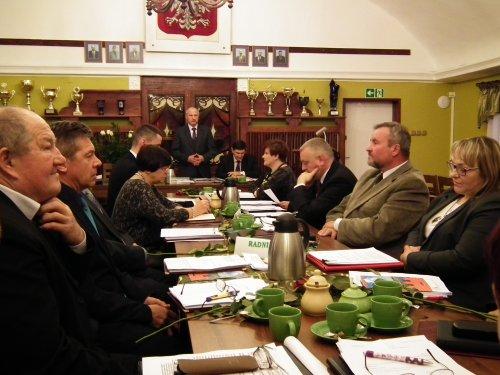 Uroczyste ślubowanie Burmistrza Czerwieńska oraz radnych Rady Miejskiej w Czerwieńsku