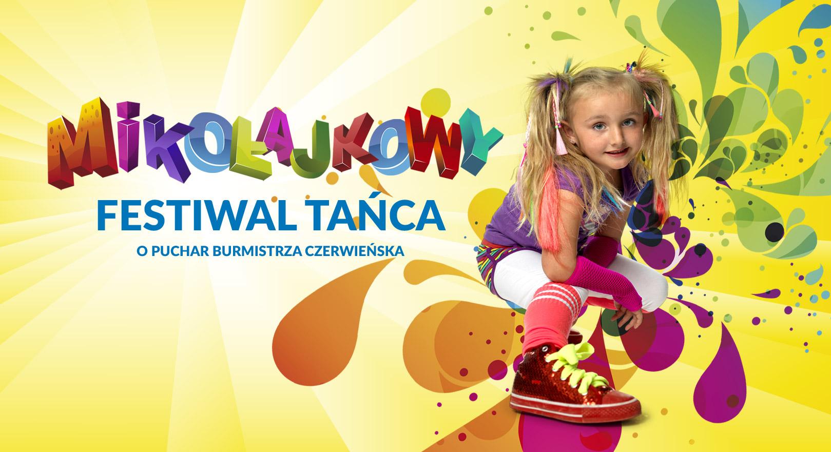 5 grudnia Mikołajkowy Festiwal Tańca o Puchar Burmistrza Czerwieńska