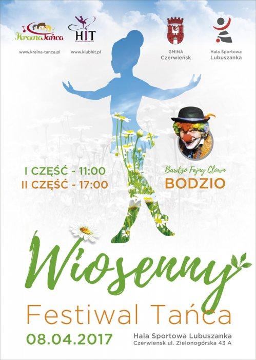 Wiosenny Festiwal Tańca 8 kwietnia